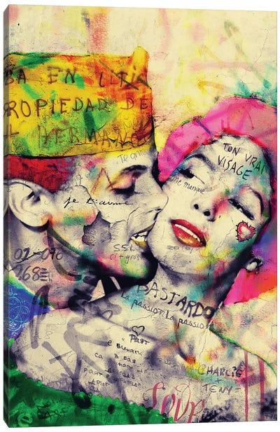 Vintage Romance XIX Canvas Art Print