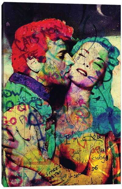 Vintage Romance XII Canvas Art Print