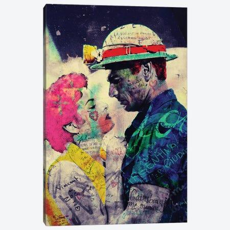 Vintage Romance XV Canvas Print #GBY26} by Brysemal Canvas Artwork