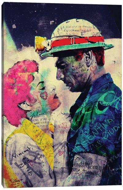 Vintage Romance XV Canvas Art Print