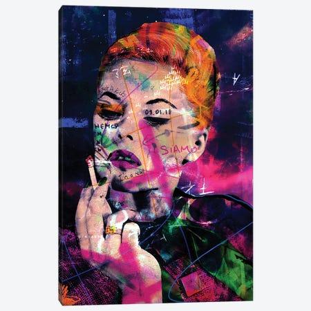 Virna Lisi III Canvas Print #GBY33} by Brysemal Canvas Wall Art