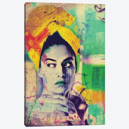 Barbara Canvas Print #GBY34} by Brysemal Canvas Art Print