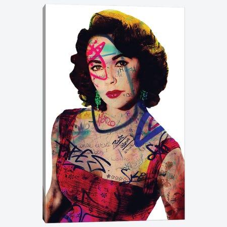Elisabeth Taylor Canvas Print #GBY6} by Brysemal Canvas Print