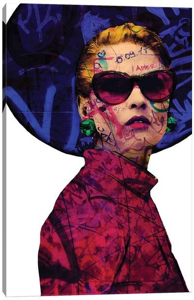 Faye Dunaway Canvas Art Print
