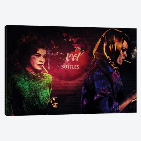 Gun Cola And Cigaret Canvas Print #GBY9} by Brysemal Canvas Artwork