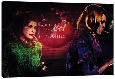 Gun Cola And Cigaret Canvas Art Print