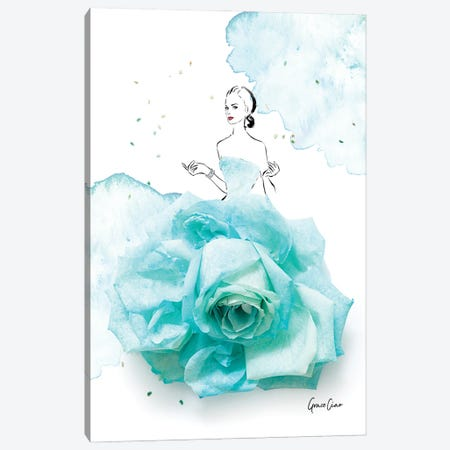 Tiffany Belle Canvas Print #GCC25} by Grace Ciao Canvas Print