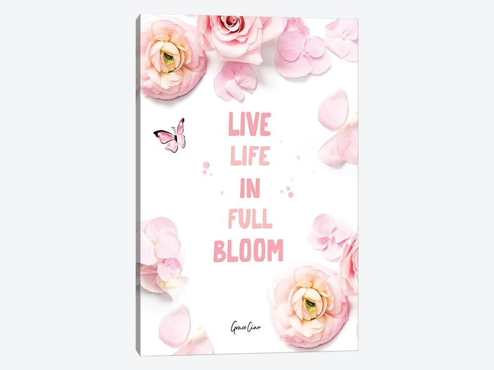 In Full Bloom by Grace Ciao 1-piece Canvas Art Print