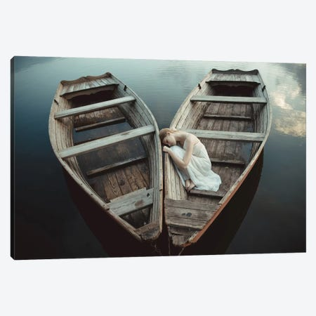 Boats Canvas Print #GCK3} by Dorota Górecka Canvas Artwork