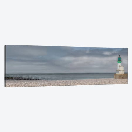 Treport Lighthouse 3-Piece Canvas #GCL10} by Gilbert Claes Canvas Artwork