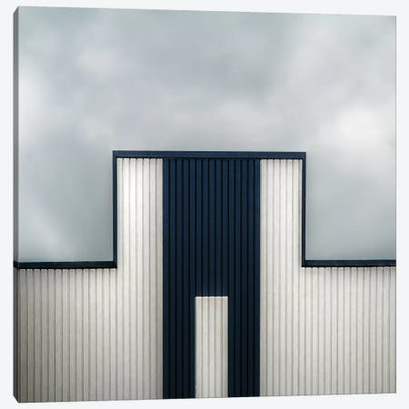 The Tetris Factory 3-Piece Canvas #GCL9} by Gilbert Claes Canvas Art Print