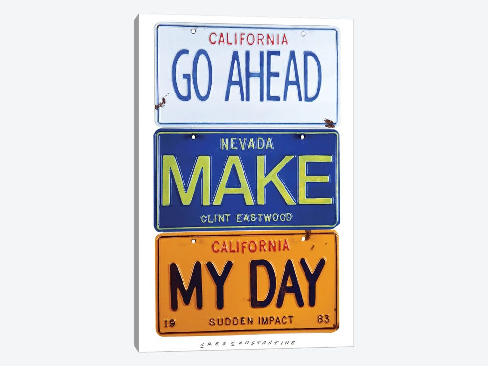 Make My Day by Gregory Constantine 1-piece Art Print