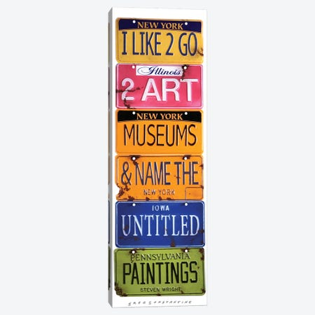 Name The Untitled Paintings Canvas Print #GCO20} by Gregory Constantine Canvas Wall Art
