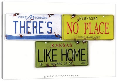 No Place Like Home Canvas Art Print