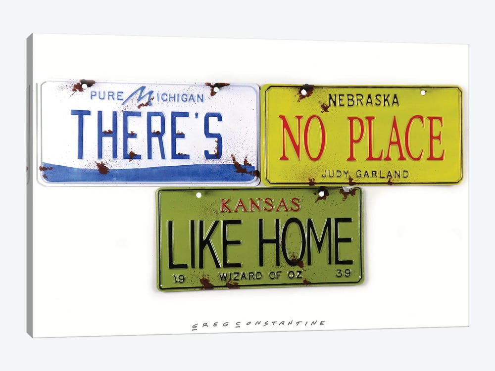 No Place Like Home by Gregory Constantine 1-piece Canvas Wall Art