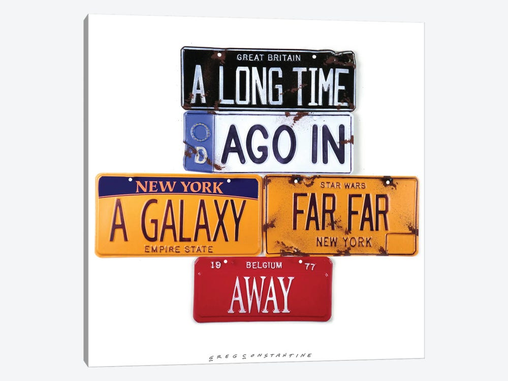 A Long Time Ago by Gregory Constantine 1-piece Canvas Wall Art