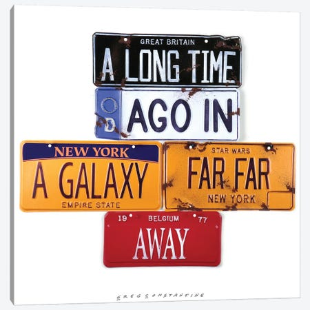 A Long Time Ago 3-Piece Canvas #GCO2} by Gregory Constantine Canvas Art