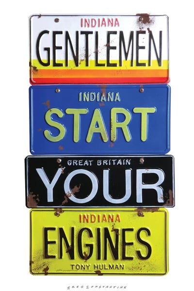 start your engines canvas wall art by gregory constantine icanvas. Black Bedroom Furniture Sets. Home Design Ideas