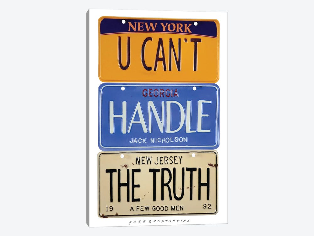 The Truth by Gregory Constantine 1-piece Canvas Wall Art