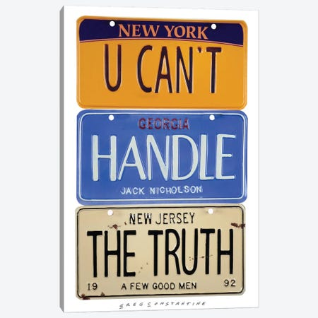The Truth Canvas Print #GCO34} by Gregory Constantine Canvas Wall Art