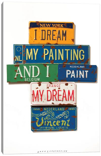 Vincent Dream Canvas Art Print