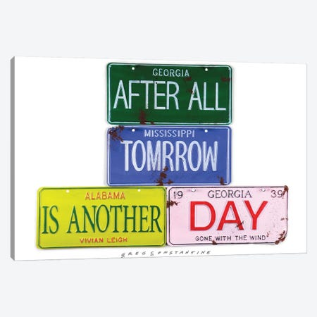 After All Tomorrow Canvas Print #GCO3} by Gregory Constantine Canvas Art