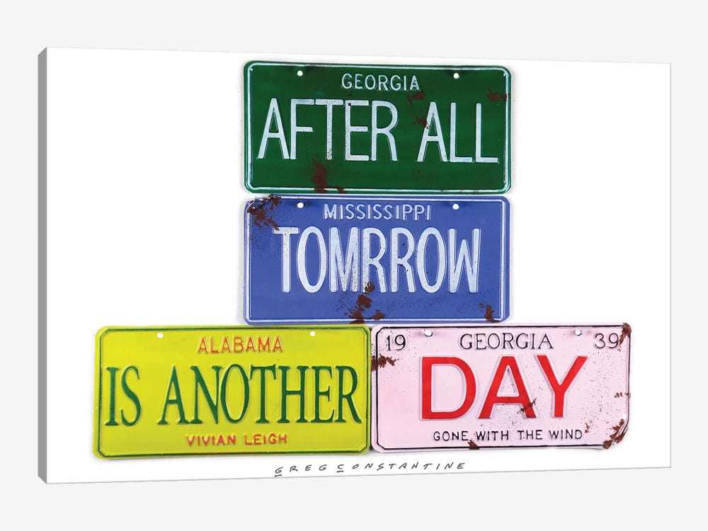 After All Tomorrow by Gregory Constantine 1-piece Canvas Print