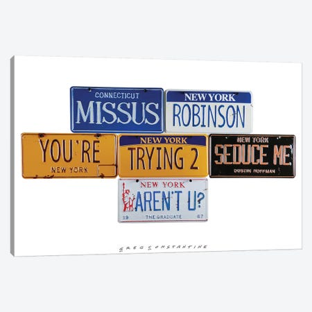 Missus Robinson 3-Piece Canvas #GCO50} by Gregory Constantine Canvas Print