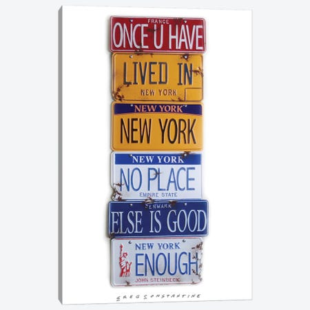 Once U Have Canvas Print #GCO52} by Gregory Constantine Canvas Art Print