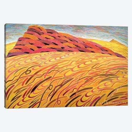 Mont St Gregoire large  Canvas Print #GCO67} by Gregory Constantine Canvas Print