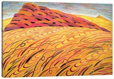 Mont St Gregoire large  Canvas Art Print
