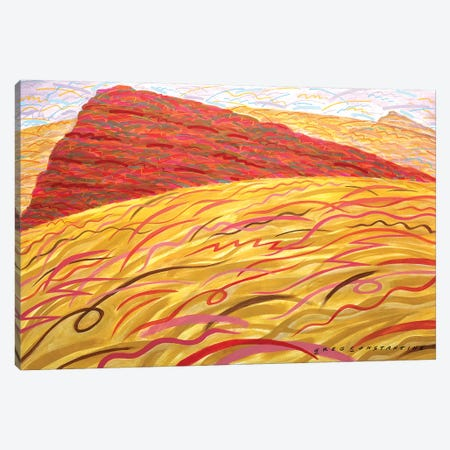 Mont St Gregoire Rounded  Canvas Print #GCO68} by Gregory Constantine Canvas Wall Art