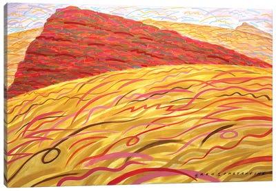Mont St Gregoire Rounded  Canvas Art Print
