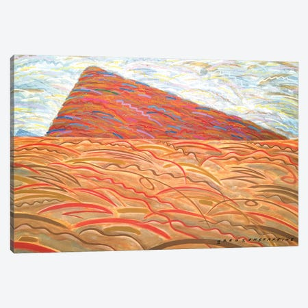 Mont St Gregoire A  Canvas Print #GCO70} by Gregory Constantine Art Print
