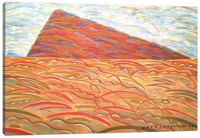 Mont St Gregoire A  Canvas Art Print