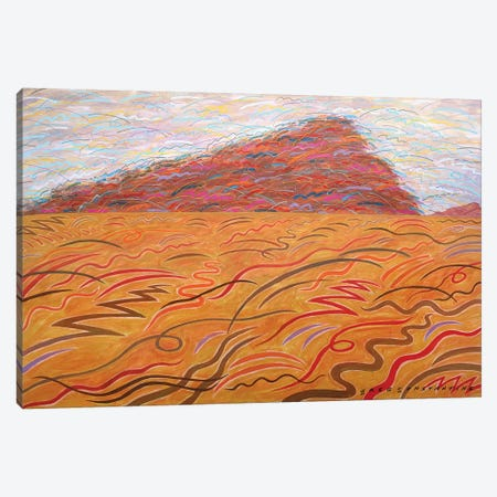 Mont St Gregoire Blur  Canvas Print #GCO71} by Gregory Constantine Art Print