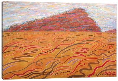 Mont St Gregoire Blur  Canvas Art Print