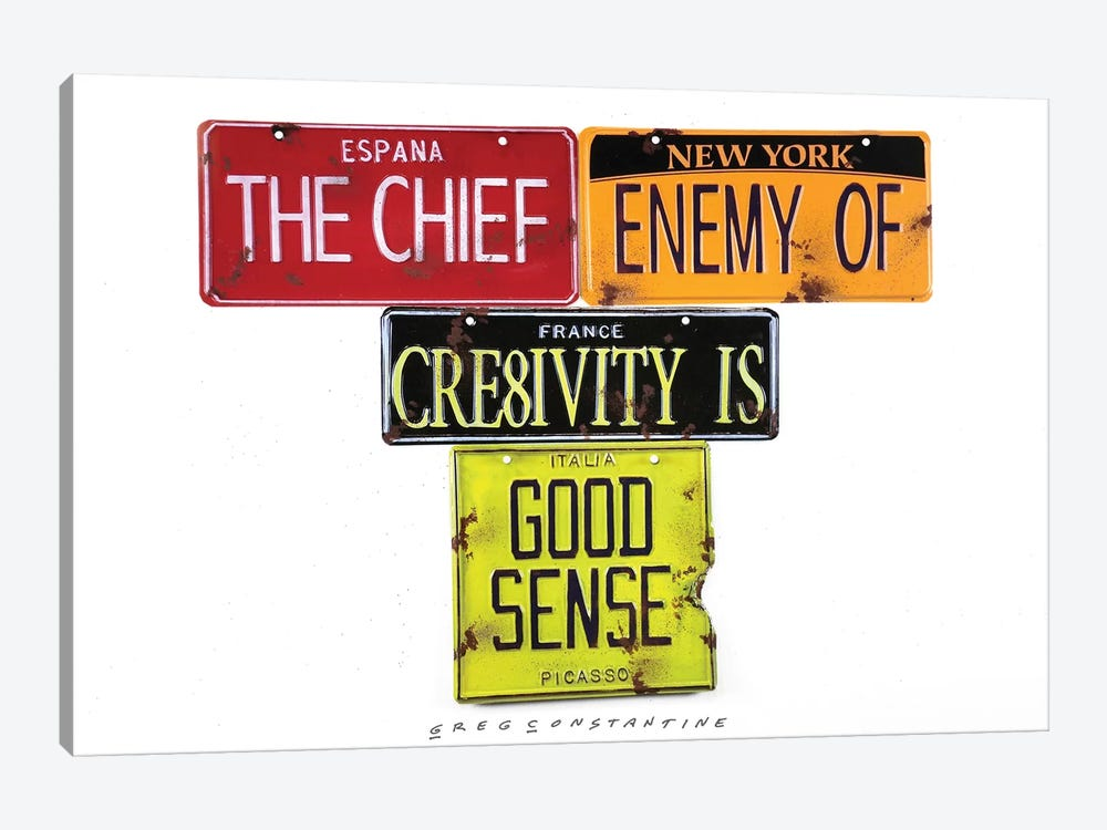 Chief Enemy 1-piece Art Print