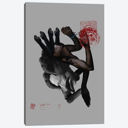 Collage XLVI - BLM Canvas Print #GCR59} by Giancarlo LaGuerta Canvas Art