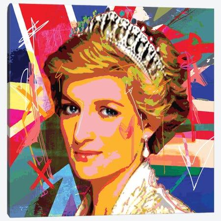 Diana X Canvas Print #GCZ15} by Gabriel Cozzarelli Art Print