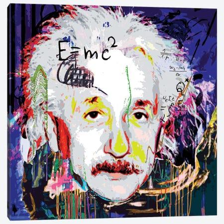 Einstein Canvas Print #GCZ18} by Gabriel Cozzarelli Canvas Art