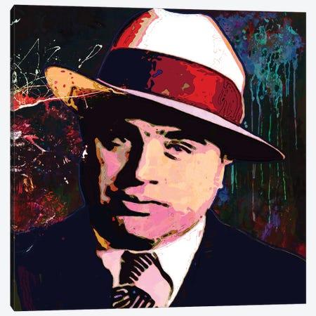 Al Capone Canvas Print #GCZ1} by Gabriel Cozzarelli Canvas Art