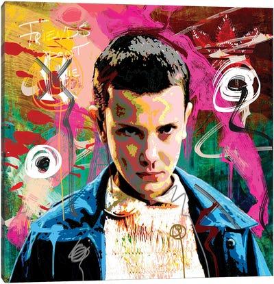 Eleven X Canvas Art Print