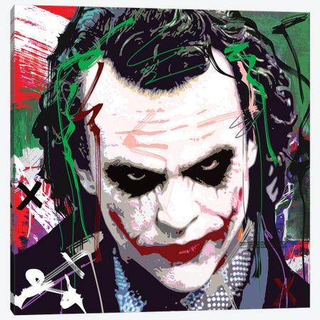 Joker X Canvas Print #GCZ33} by Gabriel Cozzarelli Canvas Art