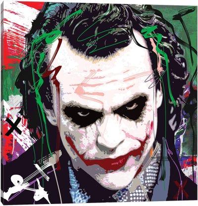 Joker X Canvas Art Print