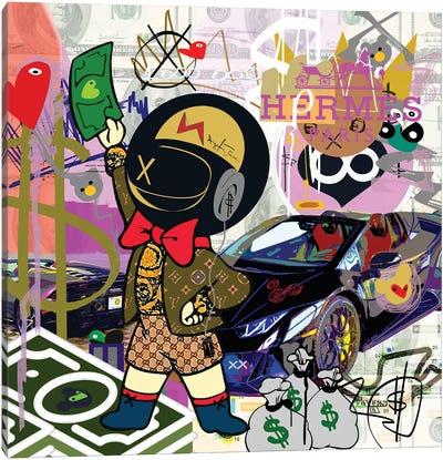 Millionaire Huracan Canvas Art Print