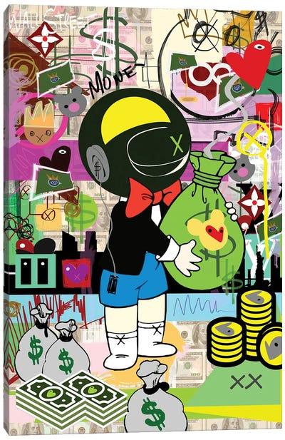 Millionaire Love Canvas Art Print