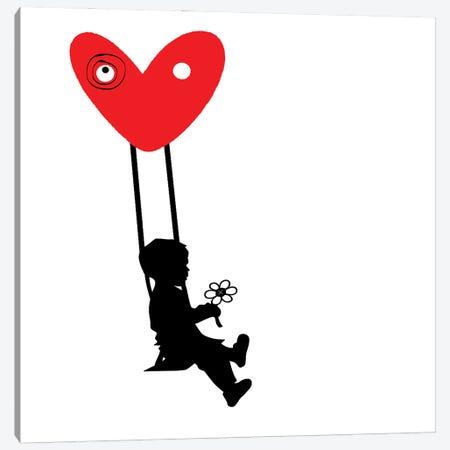 Love Swing Canvas Print #GCZ54} by Gabriel Cozzarelli Art Print