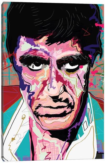 Tony Montana Canvas Art Print