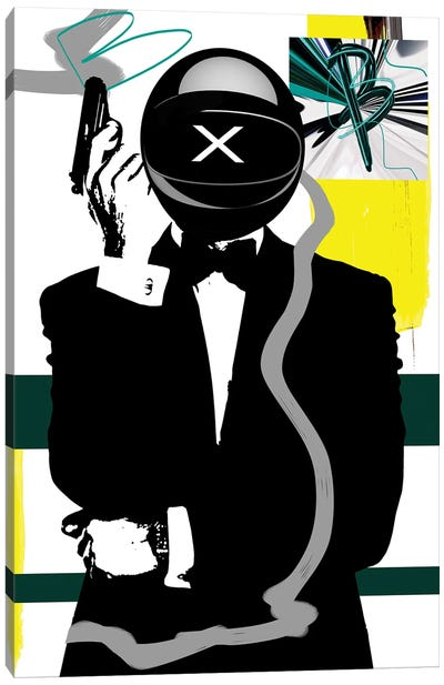 Buggatti 007 Canvas Art Print